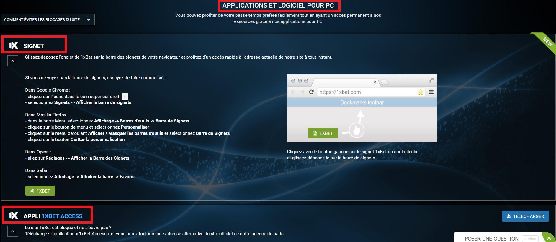 1xBet alternatif: une solution si le site officiel est inaccessible