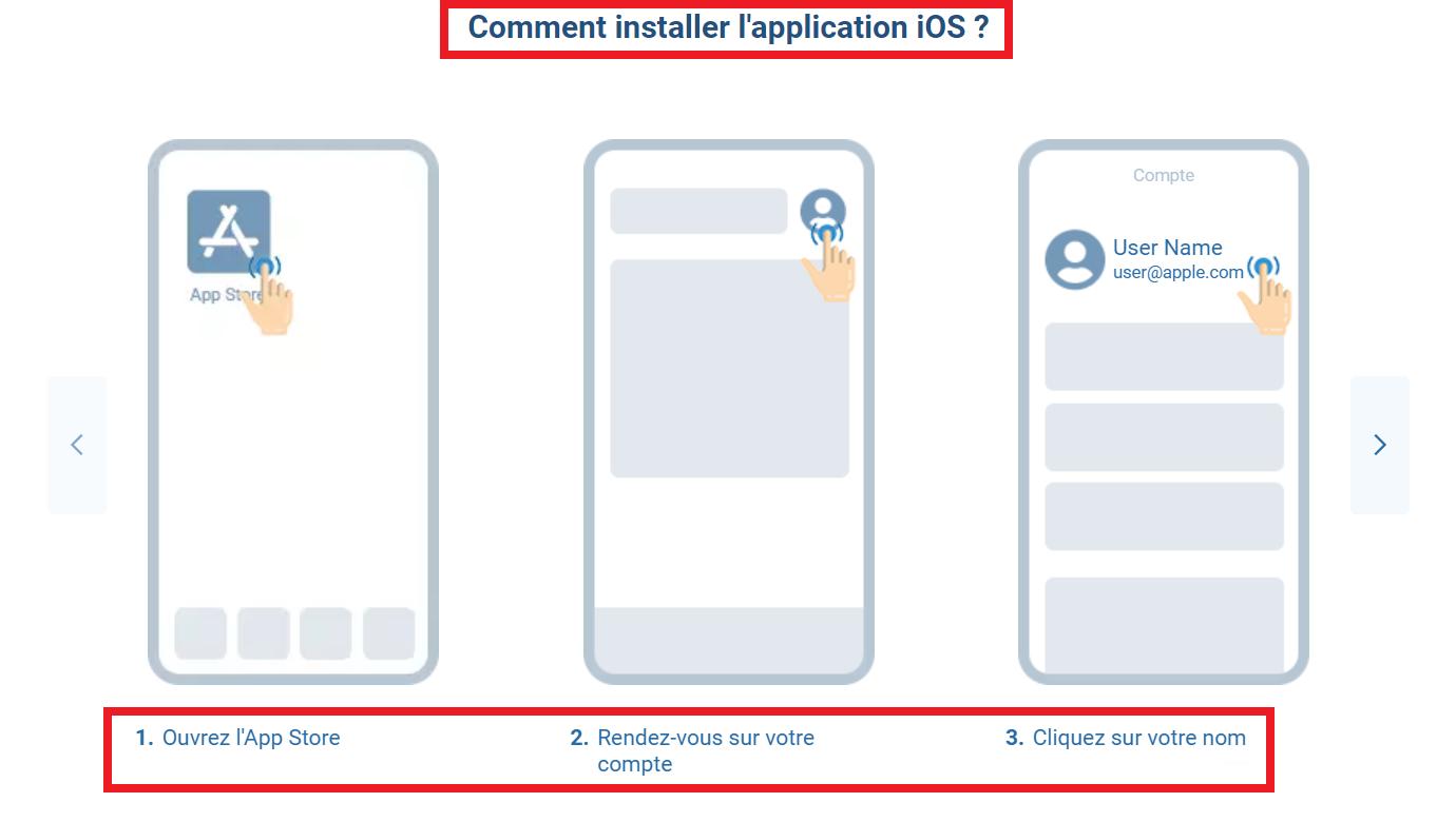 Telecharger 1xBet apk iOS et installation